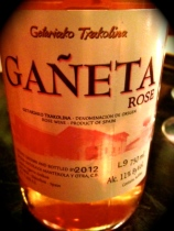 Veritas Wine Bar Ganeta Rose