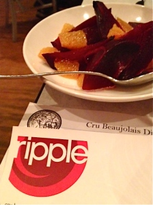 Ripple Cru Beaujolais Dinner