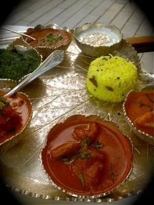 Bombay Club Thali