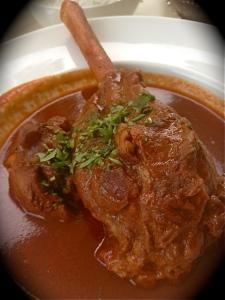 Bombay Club Lamb Shank